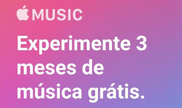 3 meses de Apple Music grátis, inclusive para Android